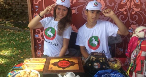 Молодые активисты РНКАТНО – участники молодежного фестиваля «Высота»
