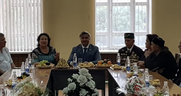 Vasil Shaykhraziev was told about the successes and problems of the Tatars of Kyrgyzstan