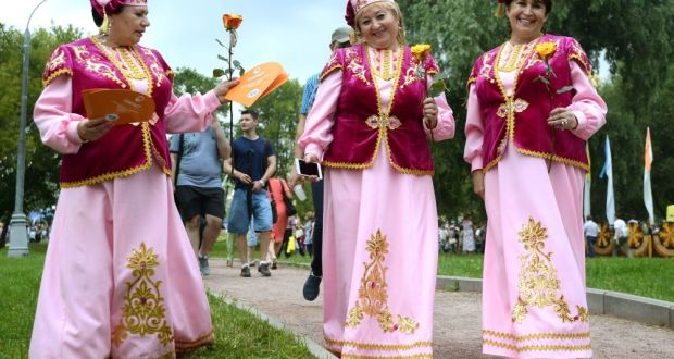 Kolomna Tatars took part in  organization and holding of the Regional Festival of artistic creativity