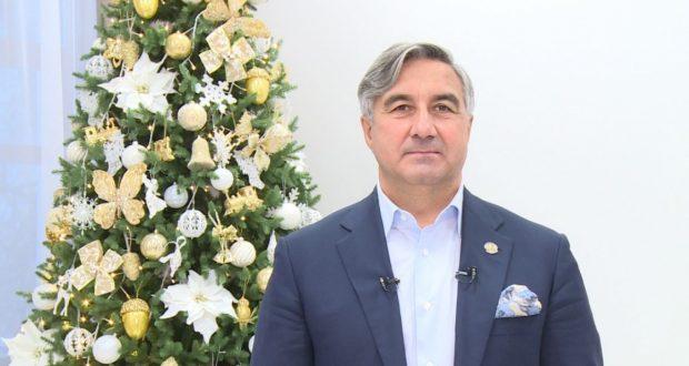 Поздравление председателя Национального совета ВКТ с Новым годом