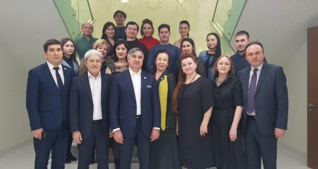 «Нур» театры коллективы конгресста кунакта