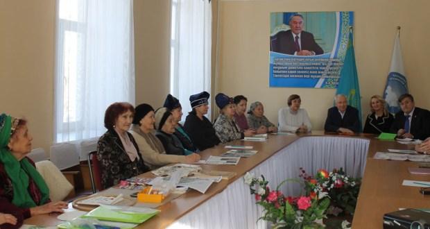 В Казахстане обсудили вопросы сохранения татарского национального декоративно-прикладного искусства