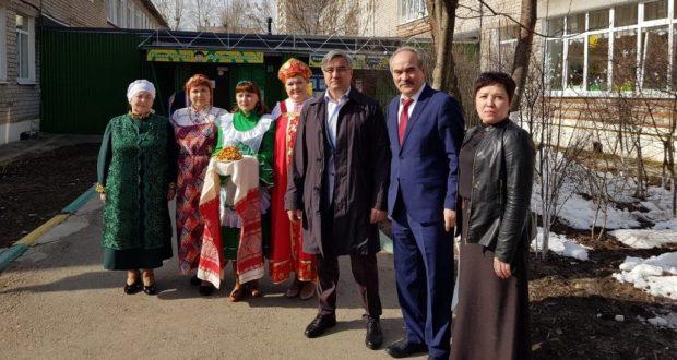Милли шура рәисе Пермьнең «Чулпан» балалар бакчасында булды