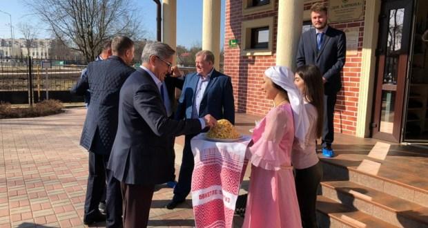 Василь Шайхразиев посетил Дом Алимова в Санкт-Петербурге