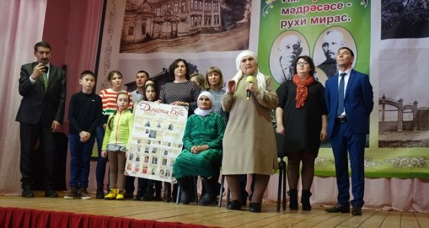 Иж-Бубый татарның Милләт анасын зурлады