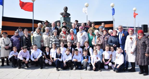 Нижневартовск шәһәрендә Бөек Ватан сугышы ветераннарын хөрмәтләделәр