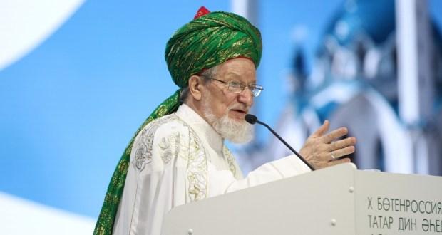 Талгат Таджуддин: «Мечеть должна быть не только местом намаза, но и местом единения и дружбы»