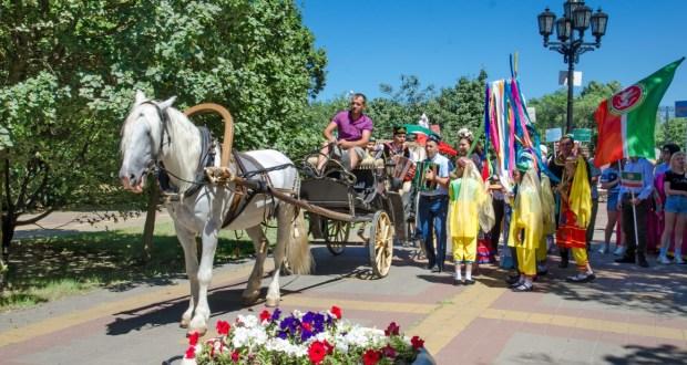 В Ростове-на-Дону отметили Сабантуй
