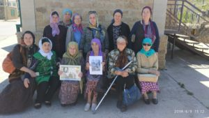 Представители Сообщества татар Дагестана посетили зиярат богослова Баязит-шейх Хайрулина