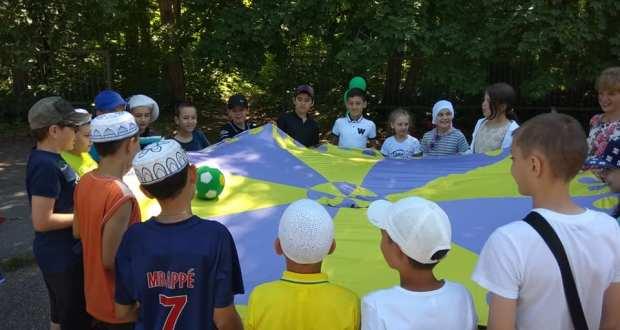 Ульяновск шәһәренең «Җиңү» паркында — балалар өчен «Ураза бәйрәме»