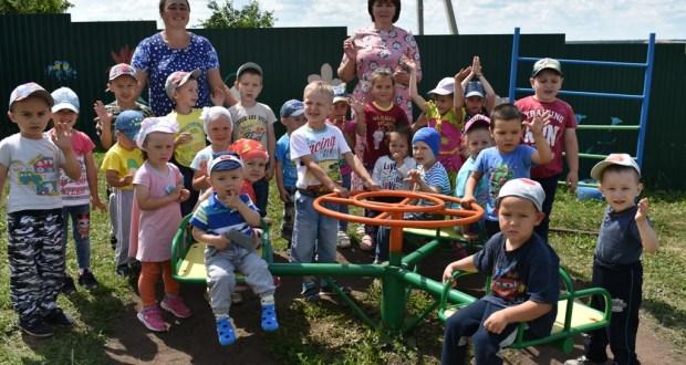 Кайбычның Кошман авылында балалар бакчасы төзелә
