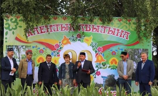 Деревня Кайнлык отметила 90-летие со дня образования