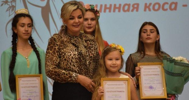 "The Nurlat branch of the World Tatars Congress organized contest ""Ozyn Tolym – Long Braid-2019"""