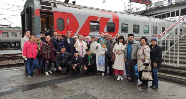 Краеведы из Казани посетили достопримечательности Новосибирской области