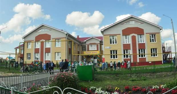 Урмайда 110 урынлы тагын бер татар балалар бакчасы ачылды