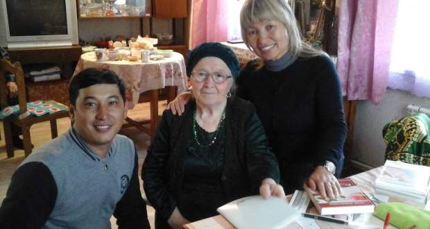 Visiting the Siberian Tatar poetess