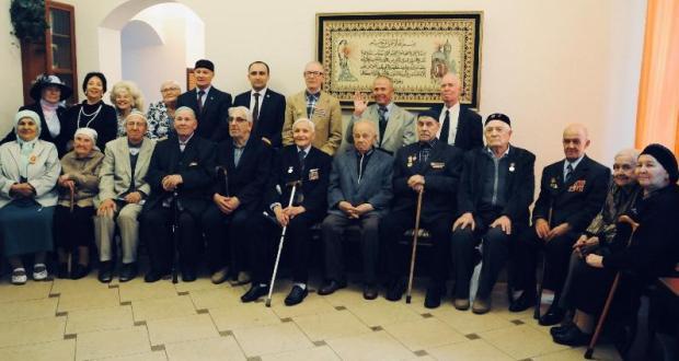В Татарском центре Москвы прошел вечер чествования ветеранов