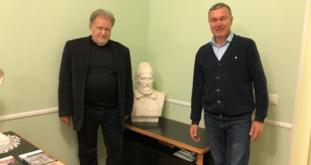 Ренат Валиуллин провел встречу с заместителем директора музея антропологии и этнографии РАН Ефимом Резваном