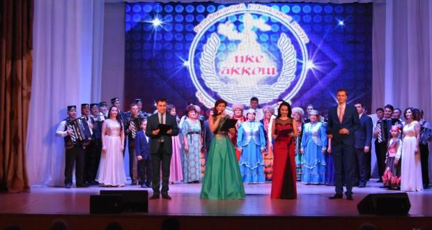 "In Ufa, a gala concert of the Republican music contest ""Ike Akkosh"""