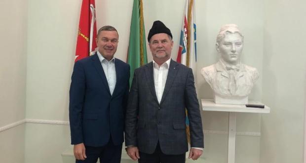 В Постоянном представительстве прошла встреча с муфтием Ханты-Мансийского автономного округа