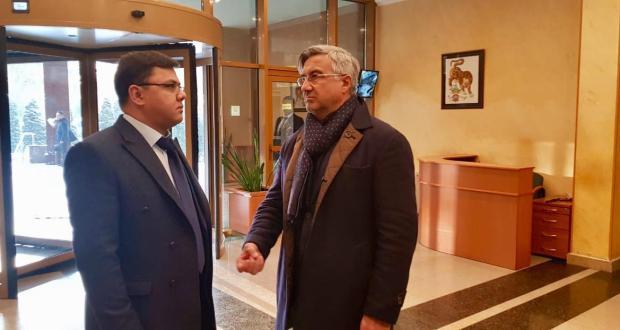 Василь Шайхразиев находится с рабочим визитом в Узбекистане