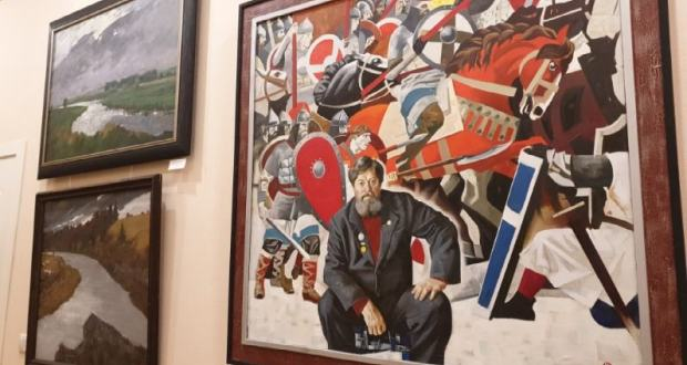 "The exhibition ""On the roads of Victory"" opened in St. Petersburg"