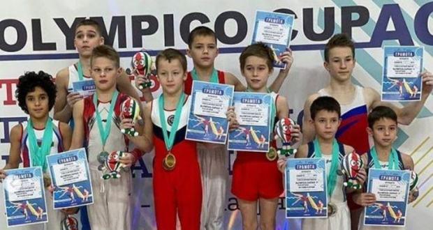 Яшел Үзән гимнастлары OLYMPICO CUPAG турнирын яулады