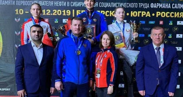 Sportswoman from Kazan wins gold in boxing competitions