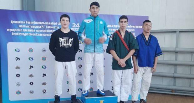 Чирмешән егетләре билбау көрәше буенча Казахстан турнирында призлы урыннар алган