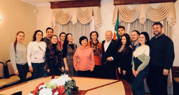 Равиль Ахметшин встретился с артистами фестиваля «Үзгәреш җиле»