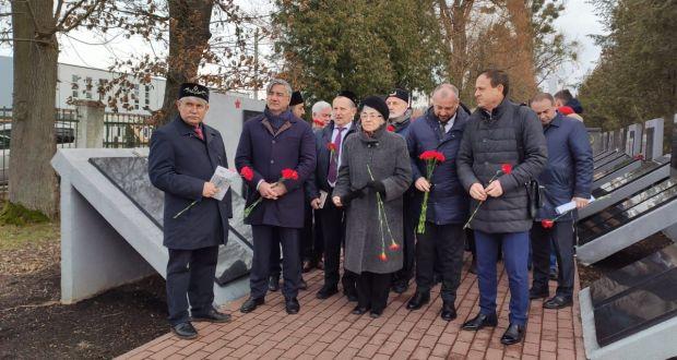 В Багратионовске почтили память поэта-воина Фатыха Карима