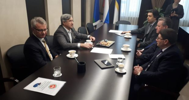 Председатель Национального Совета встретился с главой Нижневартовска