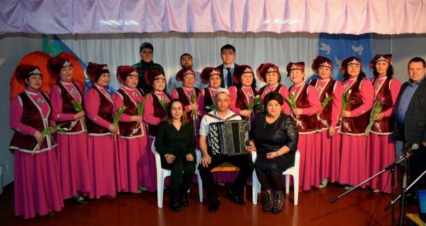 В Уленкуле Омской области состоялся отчетный концерт Народного ансамбля «Наза»