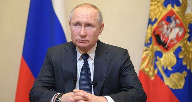 В День Победы Путин обратится к россиянам после возложения цветов к Вечному огню