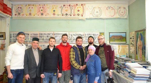 Село Зиреклы посетили московские блогеры для сбора материалов для фильма о Татарстане