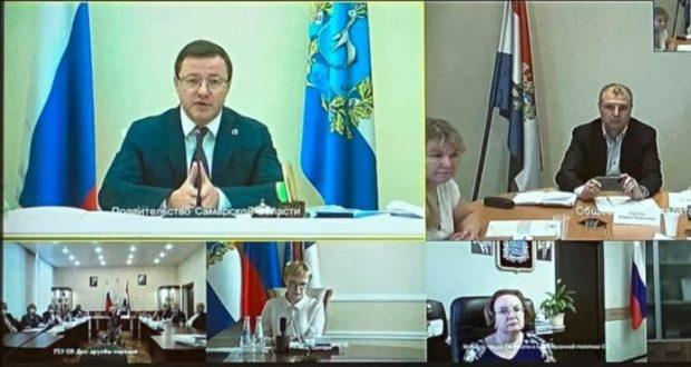 Губернатор Самарской области провел встречу с лидерами национальных общин региона