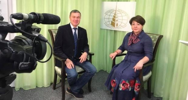 Р. Валиуллин выступил для интернет-телевидения Исполкома ВКТ