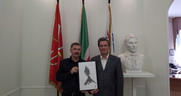 В Постоянном представительстве прошла встреча с художником Рашидом Абдульмяновым