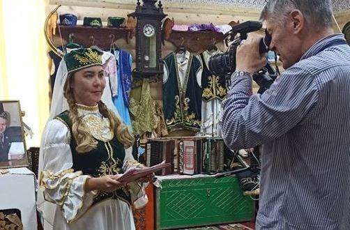 В Ленинградской области идут съёмки о музее татарской культуры