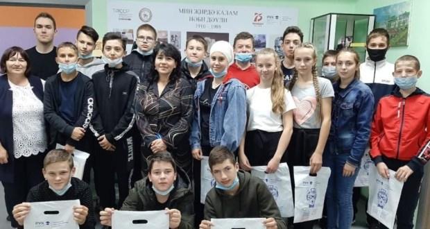 Учащиеся гимназии имени Наби Даули Алькеевского района посетили литературный музей Габдуллы Тукая в Казани