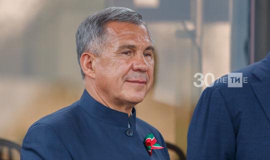 Татарстанцы переизбрали Рустама Минниханова на новый президентский срок