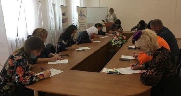 Бугульминцы стали участниками образовательной акции «Татарча диктант»