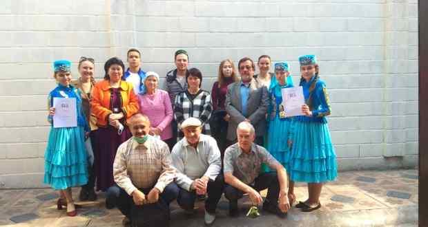 Кыргызстанның Бишкек шәһәрендә татарча диктант яздылар