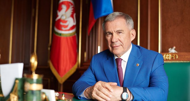 "Rustam Minnikhanov: ""I will do everything for my land, for the prosperity of my native Tatarstan"""