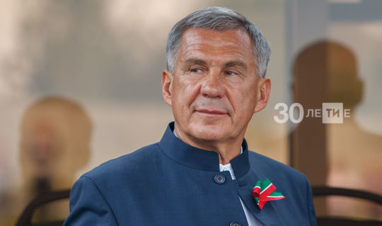 Central Election Commission registered Minnikhanov as elected President