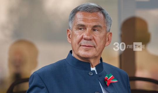 Үзәк сайлау комиссиясе сайланган Татарстан Президенты итеп Миңнехановны теркәде