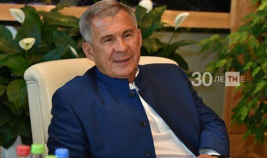 Президент Туркменистана поздравил Минниханова с победой на выборах