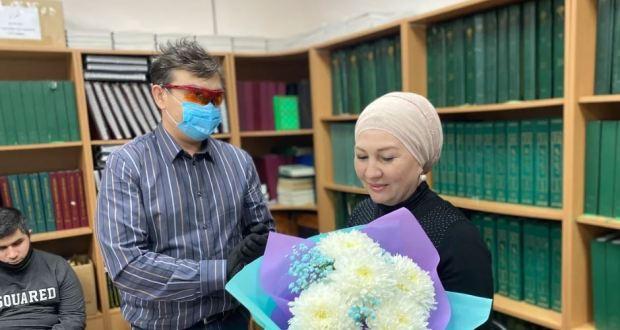 В реабилитационном центре фонда «Ярдэм» завершились курсы реабилитации по проекту «Видеть и слышать сердцем» для людей с нарушениями органов зрения