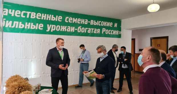 Vasil Shaikhraziev visited  Kurgansemena agricultural holding