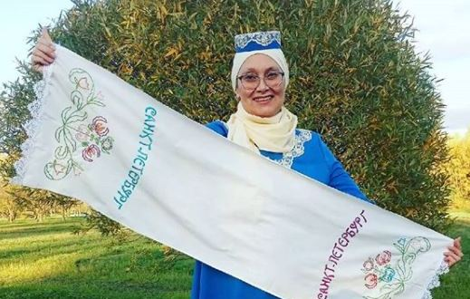 """Farida Grenda: """"I also have decided to embroider a towel"""""""